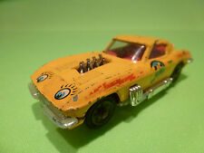 CORGI TOYS 337 CHEVROLET CORVETTE STINGRAY - LAZY BONES - 1:43 - RARE - GOOD
