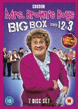 Mrs Brown's Boys Complete Series 1 2 3 Christmas Specials Box Set DVD FREE POST