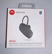 Motorola Hk115 Lightweight Comfort Bluetooth Wireless Headset Factory Sealed New