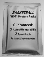 *RARE* Basketball MYSTERY PACK NBA* 3 Hits! Jersey RC Patch Auto #'d 3rd EDITION