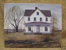 Aunt Emma Place White House Canvas Picture Decor Paint