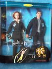 The X Files * TV Show * Barbie & Ken Doll * Gift Set