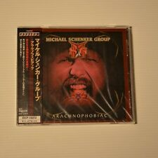 MICHAEL SCHENKER GROUP - Arachnophobiac - 2003 JAPAN CD FIRST PRESS