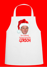 Gordon Ramsey Novelty Christmas Chefs Apron Secret Santa Gift Novelty Apron