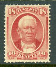 US Hawaii Scott 34 Mint unused No Gum GORGEOUS