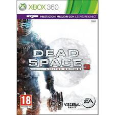 X360 XBOX 360 Dead Space 3 Limited Edition NUOVO Versione Italiana