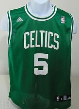 NBA Boston Celtics Green Adidas #5 Kevin Garnett Replica Jersey  Youth Large