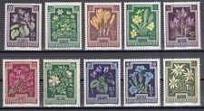 Österreich 1948 postfrisch MiNr. 868-877