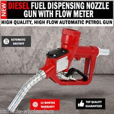 NEW Automatic Shut Off Fuel Dispensing Petrol, Diesel Nozzle Gun With Flow Meter