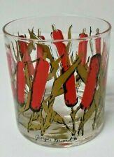 Vintage MCM George Briard Cat Tail Rocks Glasses! set of 6. Fabulous 7 RARE!