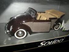 1:18 solido VW MAGGIOLINO CABRIO IN SCATOLA ORIGINALE