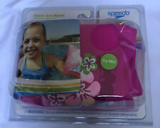 Girls Speedo Floatie Fabric Arm Bands Pink Ages 2-12 Level 2 NIP