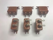 2.0 uF 160 V Paper Capacitors MBGO-2. Set of 6. New