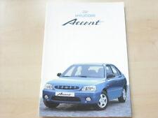 54111) Hyundai Accent Prospekt 06/2001