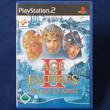 PS2 - Playstation ► Age of Empires II: The Age of Kings ◄ TOP Zustand
