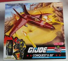 New listing G.I. Joe Exclusive Deluxe Vehicle Conquest X-30 w/ Python Patrol Viper Misb New