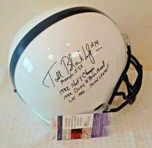 TODD BLACKLEDGE Autographed Signed JSA Full Size PENN STATE Helmet Inscriptions