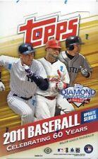 Topps Updates MLB 2011 Baseball Cards - Pack of 36