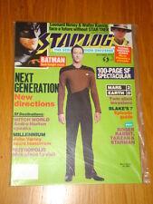 STARLOG #147 SCI-FI MAGAZINE OCTOBER 1989 STAR TREK NEXT GENERATION BATMAN