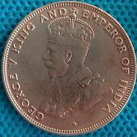 Moneda Monedas Hongkong 1919 Ref 0274