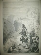 MONTENEGRO DéFILé DE LA KUTSCHKA ALBANIE MAROC KODJA IMPOT LYON GRAVURES 1861