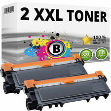 2x XL TONER für BROTHER HL-L2300D L2340DW L2360DN L2365DW MFC-L2700DW L2720DW