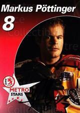 2003-04 German DEG Metro Stars Postcards #17 Markus Pottinger