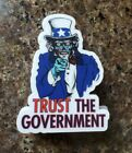 They Live Movie 🎥 Parody Funny Political Sticker Uncle Sam Anti Deep State 1984