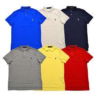 Polo Ralph Lauren Mens Polo Shirt Short Sleeve Lightweight Interlock Top New Nwt