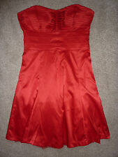 Jane Norman size 10 red sleeveless ball gown, cocktail dress