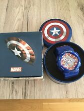 G Shock Casio Captain America Marvel  Neu Mit Box Replikat