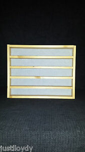 New** 50. thimble display rack in Beech