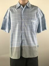 O'Neill Mens Short Sleeve Button front Shirt Size Medium