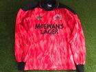 "ULTRA RARE Glasgow Rangers 30/32"" Goalkeeper Shirt 1990/92 1991 1990 Vintage"