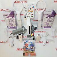 White Wii Console 2 Player bundle =29+ mini-games +Mario+Sonic +1 Year Warranty