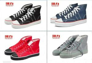 Authentic HuiLi WARRIOR classic WL-46 New basketball shoes sneakers canvas shoes