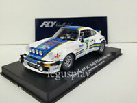 Slot car Scalextric Fly Ref. 88153 / A-963 PORSCHE 911 SC #3 1982 B.Fernandez