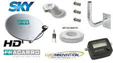 Kit Parabola Fracarro hd antenna parabolica kit completa di tutto con staffa