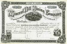 18_ Mineral Hill Mining Co Stock Certificate