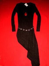 H&M DIVIDED GREY LONGSHIRT OVERSIZED SHIRT STRICKKLEID SWEATSHIRT M 36 38 NEU