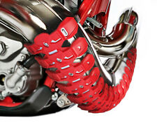 Armadillo universal 2 stroke exhaust guard Red header pipe protector Motocross