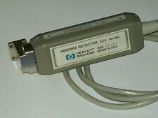 AGILENT HEWLETT PACKARD HP R85026A detector WR28 R band 26.5-40 ghz HP8757