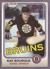 1981-82 OPC Ray Bourque Boston Bruins #1