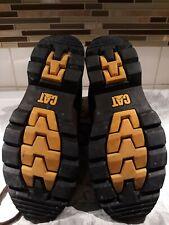 Caterpillar steel toe work boots