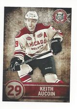 2013-14 Chicago Wolves (AHL) Keith Aucoin (EHC München)