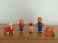 McDonalds Toys Berenstain Bears Lot of 3 Figures With  Accessories 1986