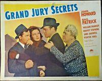 Grand Jury Secrets John Howard Gail Patrick Original 1939 Lobby Card Jane Darwel