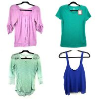 Lot Of 4 Womens Tops Size Medium Newbury NY&C No Boundaries Mossimo