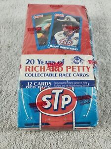 1991 TRAKS 20 Years of Richard Petty Collectable Race Cards Factory Box Sealed
