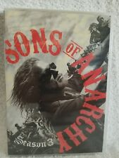 Sons of Anarchy: Season Three 3 (DVD, 2011, 4-Disc Set) Widescreen New Sealed